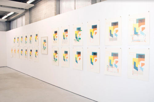 Exhibition view, London, 2020